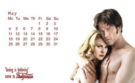 bill e sookie calendary