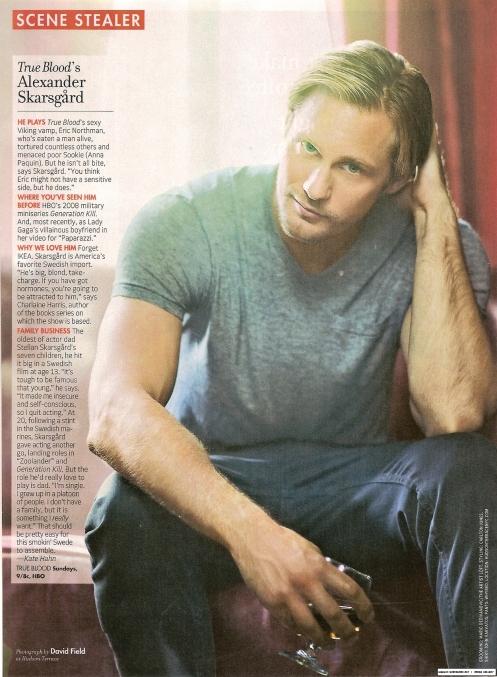 Eric na TV Guide